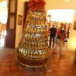 Árvore de Natal com garrafas de tequila!Show.