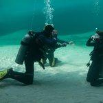 Under water safety practice