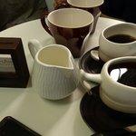 Coffee drinks at Mori Mori