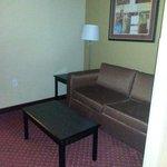 Loveseat in suite