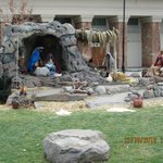 Nativity Scene Salt Lake Temple Nov. 2012