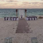 Our wedding set-up