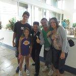 Con Nilton en Bahia Othon Palace