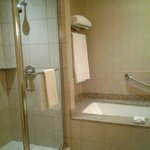 Large bathroom with separate shower & tub