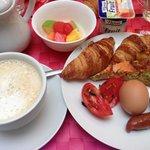 同じく朝食(^^)