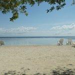 easy walk to Bando Beach ($3 pp entrance fee)