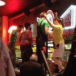 dancing servers