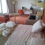 Notre chambre à l'hôtel.