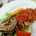 Aunty Lee's Cili Garam fish