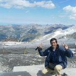 On top of Mt. Titlis