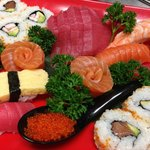 Sushi Wave Authentic Japanese Foto