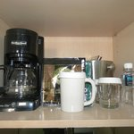 Coffee Center in Room