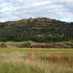 Cliff in Upper Bidwell Park