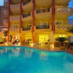 Evilion Sea & Sun Hotel, pool view