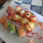 Amazing sushi platter