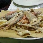 La frittura di pesce dell'Adriatico