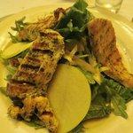 Salad d'Auvergne (with added chicken)