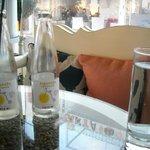 Scenic view with empty bottles of lemonade !!!