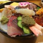 すけ寿司さんの能登丼