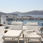 mykonos view from deluxe studio magic view