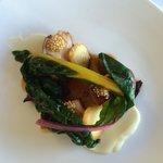 A pork dish at Cable Bay.