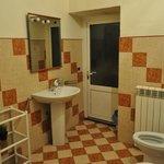 salle de bain d'un autre âge pas saine
