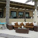 Bar beim Rest. Turquoiz am Beach