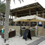 Bar beim Rest. Turquoiz am Strand