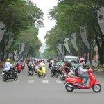 Busy Saigon