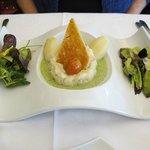Piatto del giorno- pesce e verdure