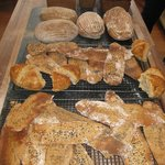 A variety of bread baked in the sourdough bread class for students to take home
