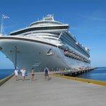 New port at Grand Turk Caicos Island
