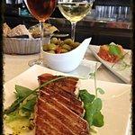 Ventresca de Atun (Tuna steak) Amazing!