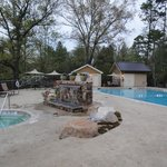 Swimming pool & fire pit