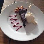 Mmmmmm, yummy chocolate tart