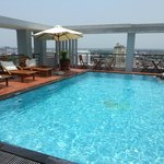 Romance rooftop pool a big plus