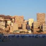 Early evening on Levante Beach