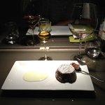 Le dessert, fondant au chocolat