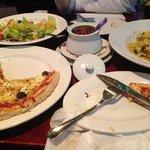 Libro pizza & mushroom risotto