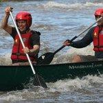 Canoeing Symonds Yat Rapids