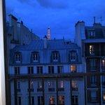 Las vistas son muy parisinas