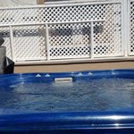 Jacuzzi roof lounge
