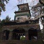 尾山神社の石の門