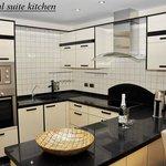 Presidental suite kitchen