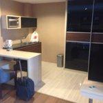 Kitchen area (suite)