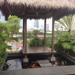 Gazebo cafe area  (suite)