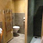 Petit bémol, les toilettes sont assez hauts, dommage pour les petits...