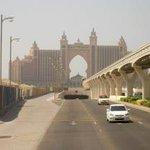erster Blick von Dubai aus