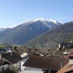 Panorama dalla camera verso l'Alta Val Venosta - Gruppo Ortler