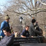 Band in Central Park